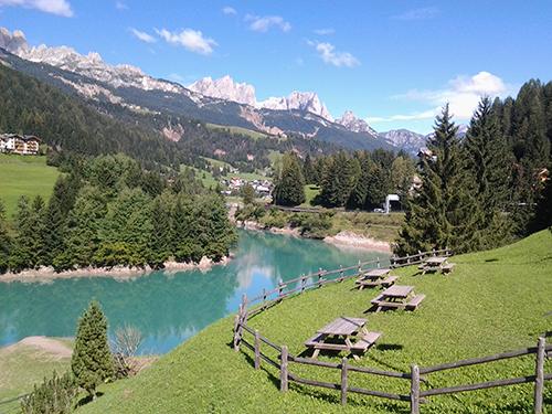 Un week end in Val di Fassa, prima dell\'inizio della scuola ...